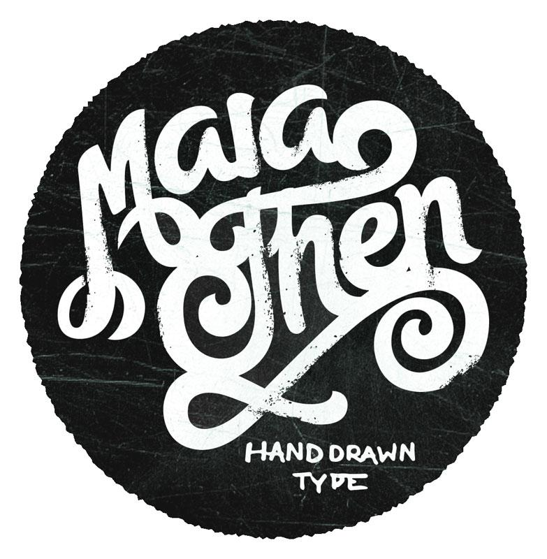 Maia Hand Drawn Type - image 1 - student project