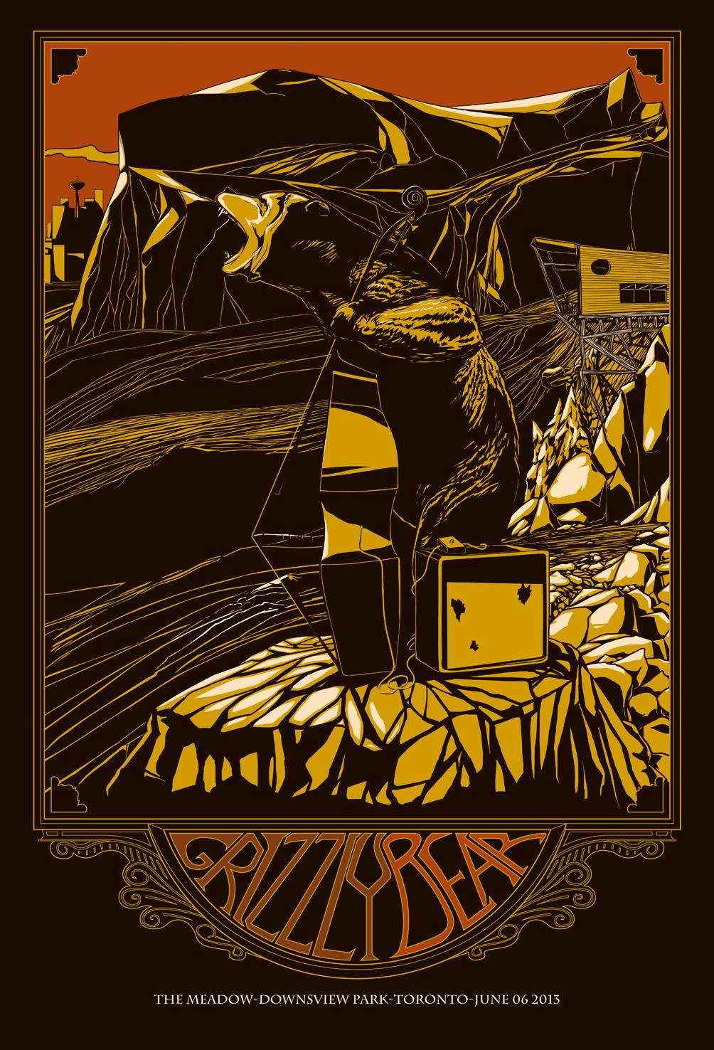 GRIZZLY BEAR poster - image 1 - student project