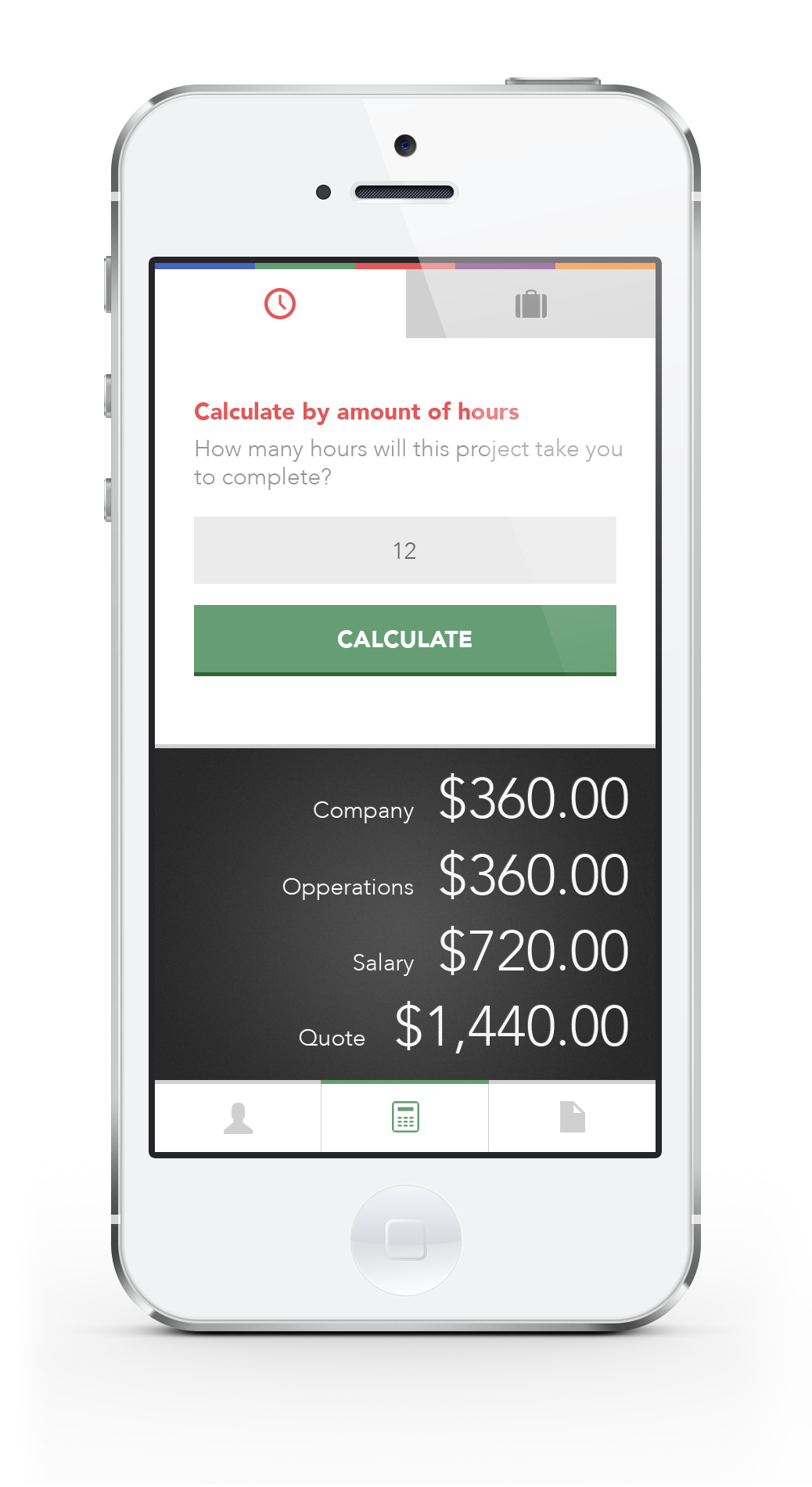 Abacus - A freelance calculator - image 16 - student project