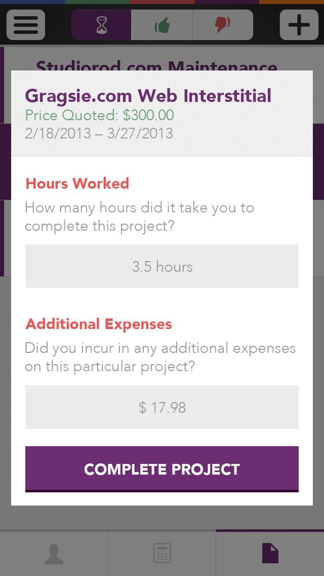 Abacus - A freelance calculator - image 7 - student project