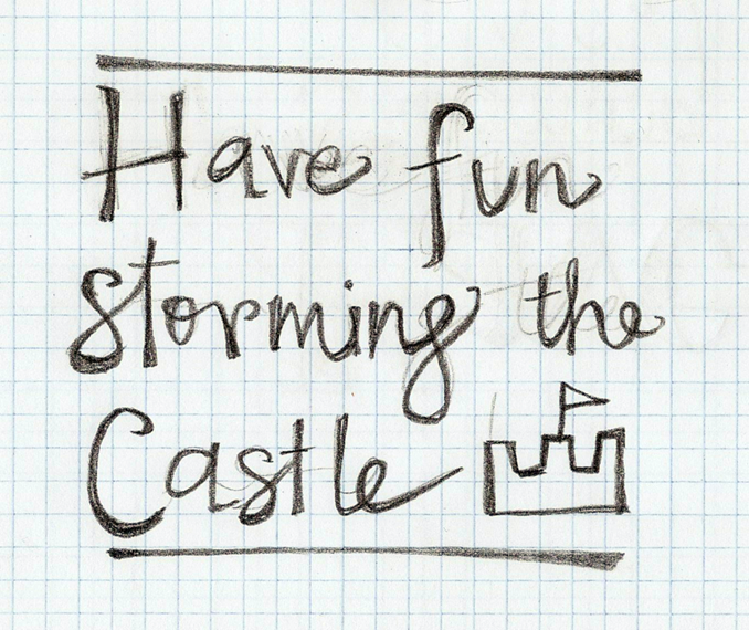 Have fun storming the castle - w/FINAL art! Feedback welcome!! - image 3 - student project