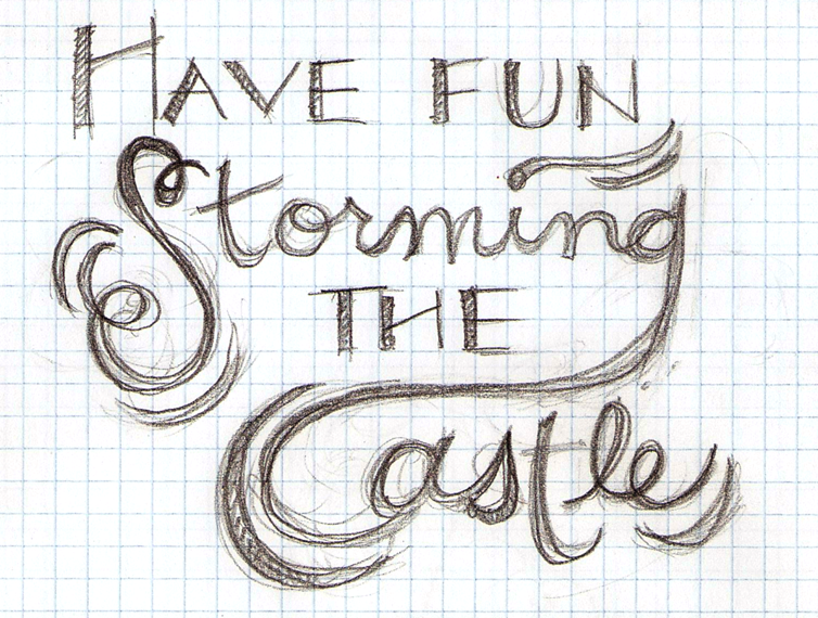 Have fun storming the castle - w/FINAL art! Feedback welcome!! - image 2 - student project