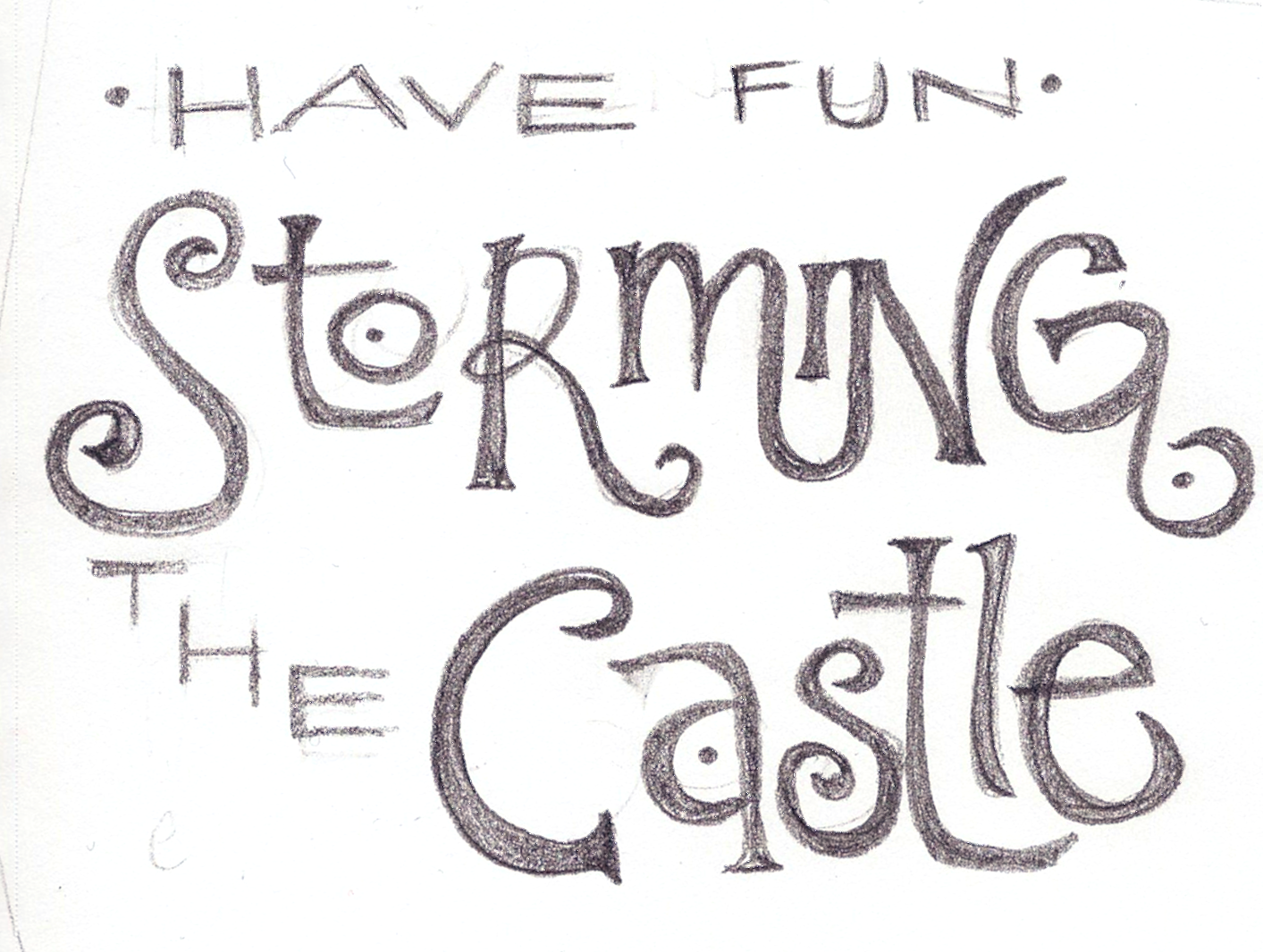 Have fun storming the castle - w/FINAL art! Feedback welcome!! - image 1 - student project
