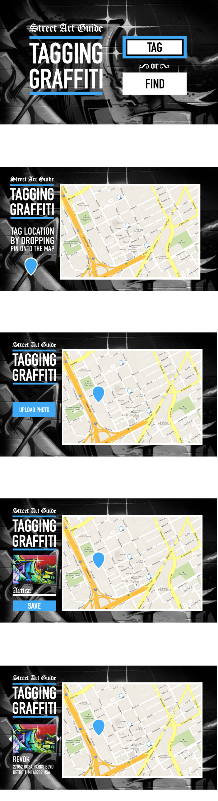 Tagging Graffiti  - image 2 - student project
