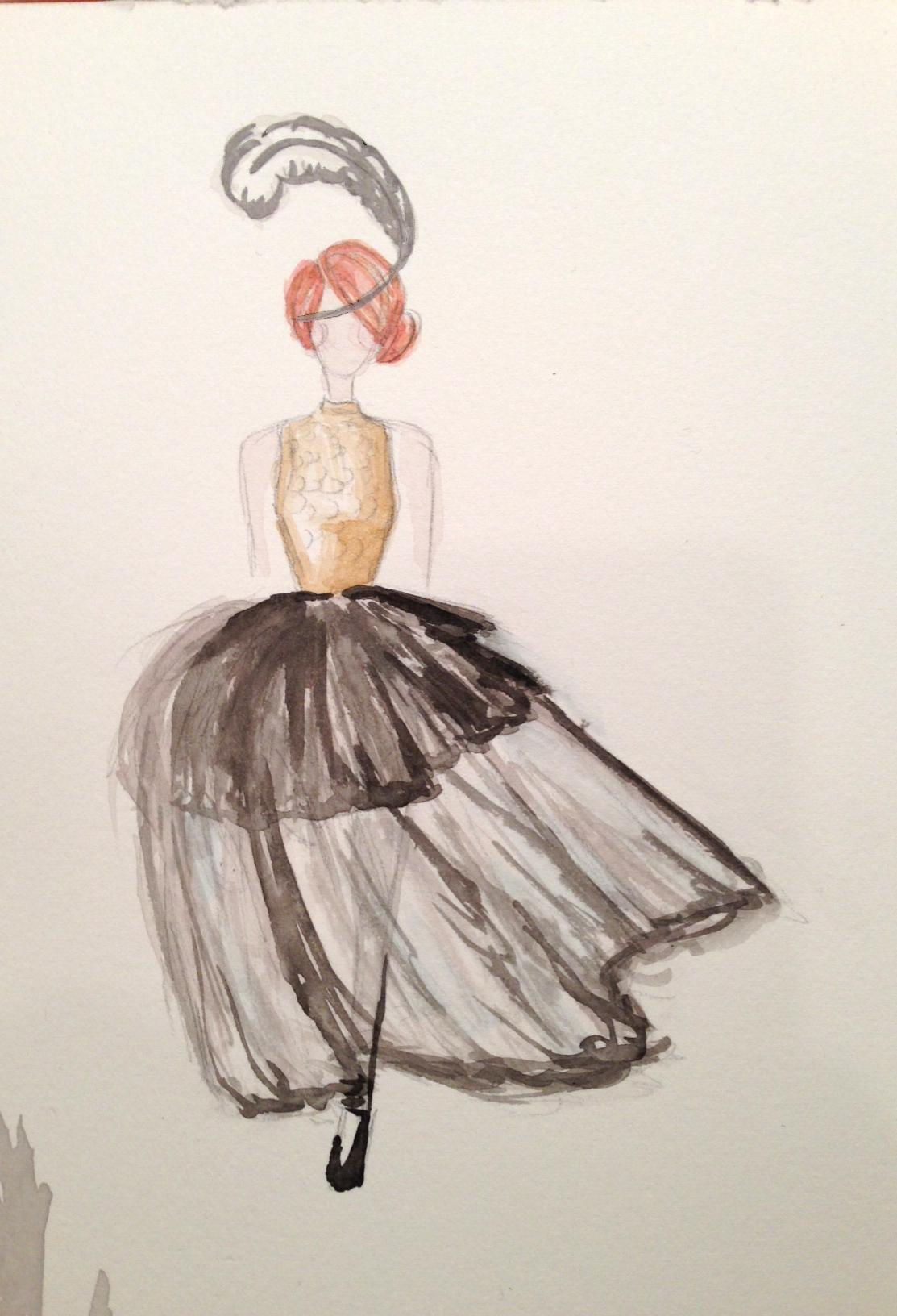 [WATERCOLOR - awaiting embellishments] french school - image 18 - student project