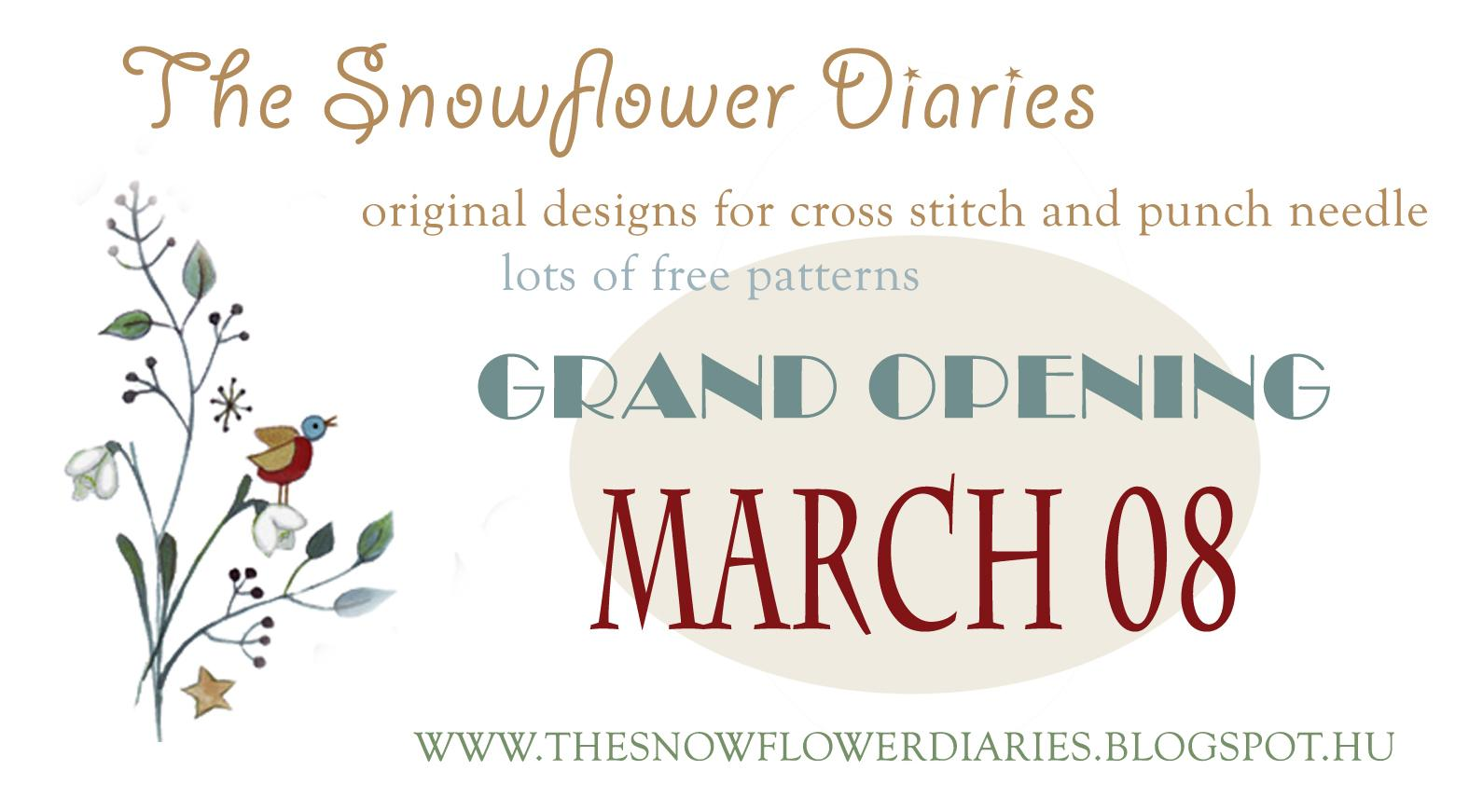 The Snowflower Diaries Project - image 1 - student project