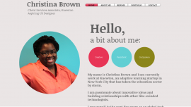 Christina Brown - Christina Brown's Online Portfolio