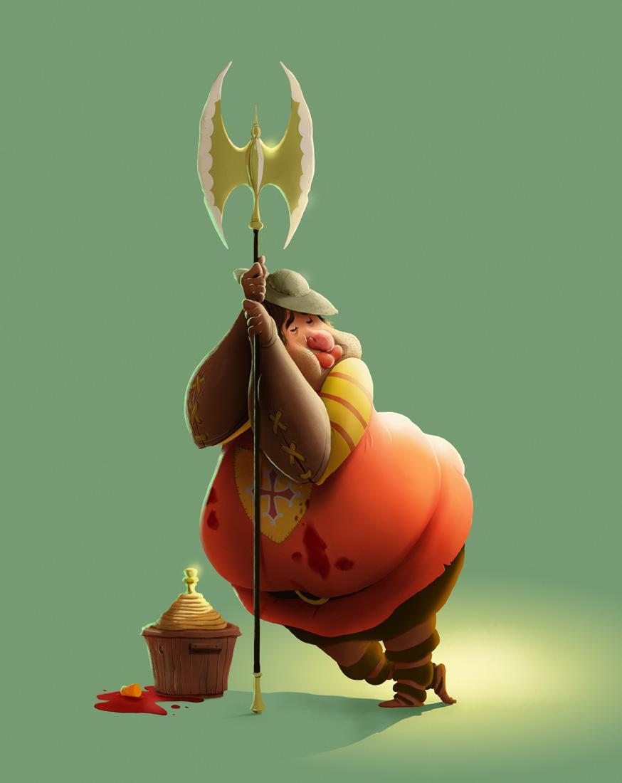 Fatty Guard - image 17 - student project
