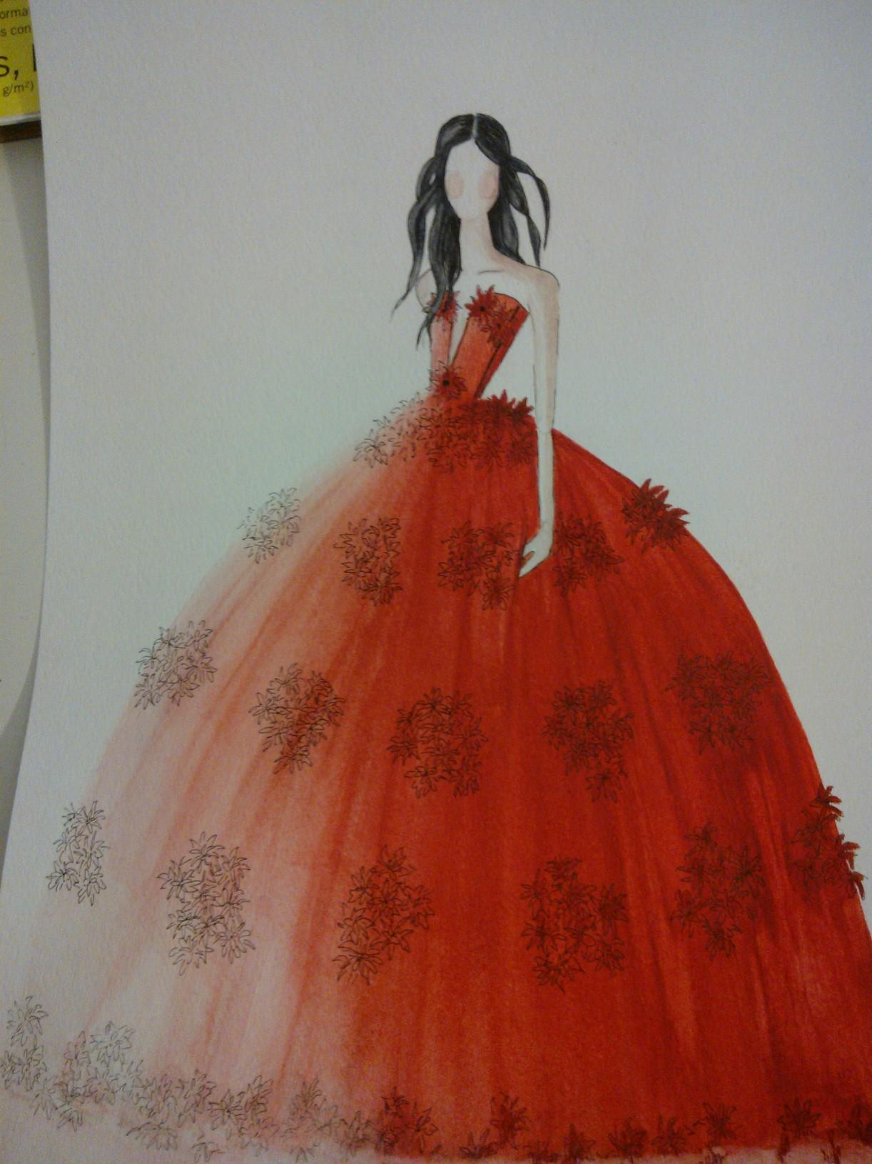 EMBELLISHED-WATERCOLOR-Everybody must have a fantasy..... - image 3 - student project