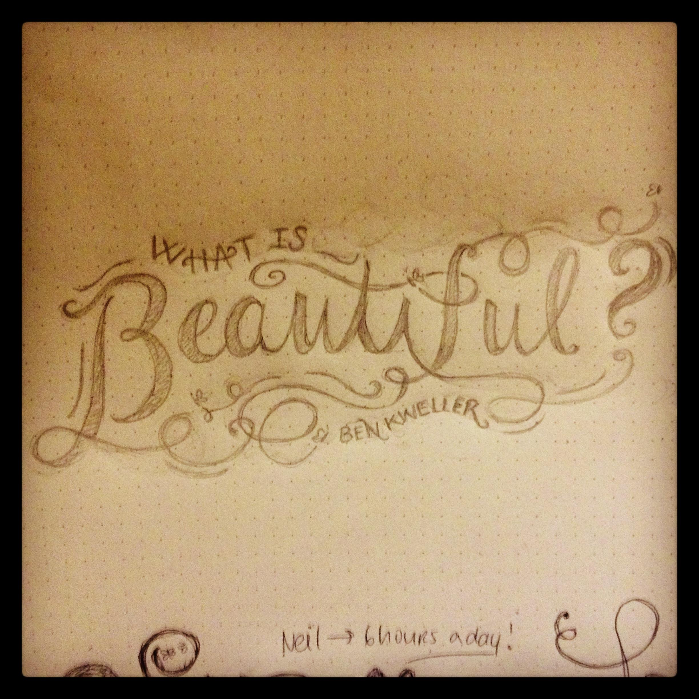 what is beautiful? - image 1 - student project