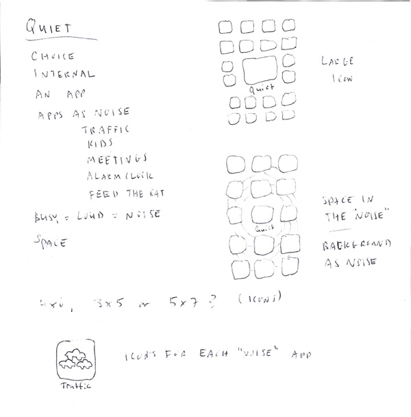 The Quiet App - image 5 - student project