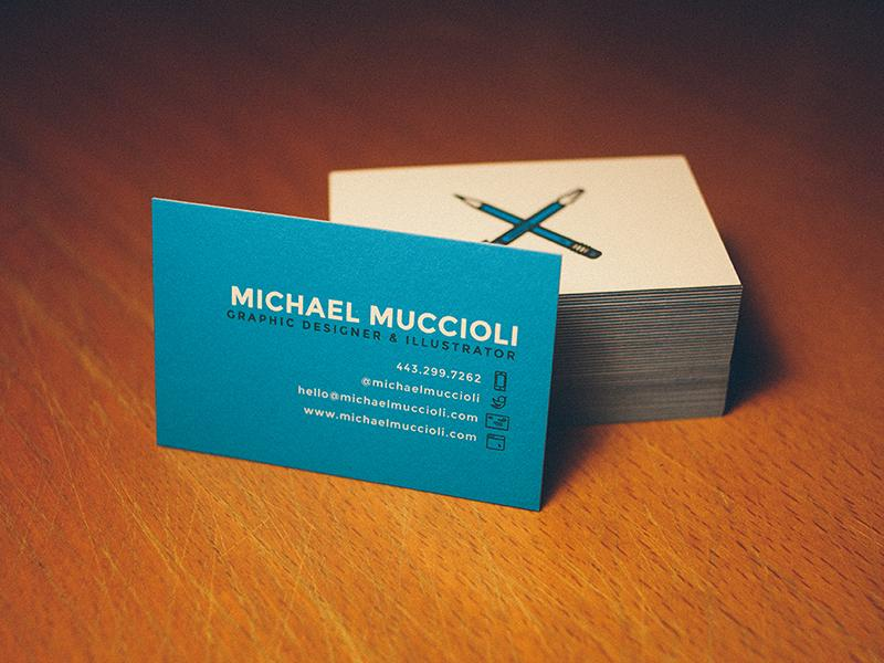 Freelance Business Card - image 8 - student project