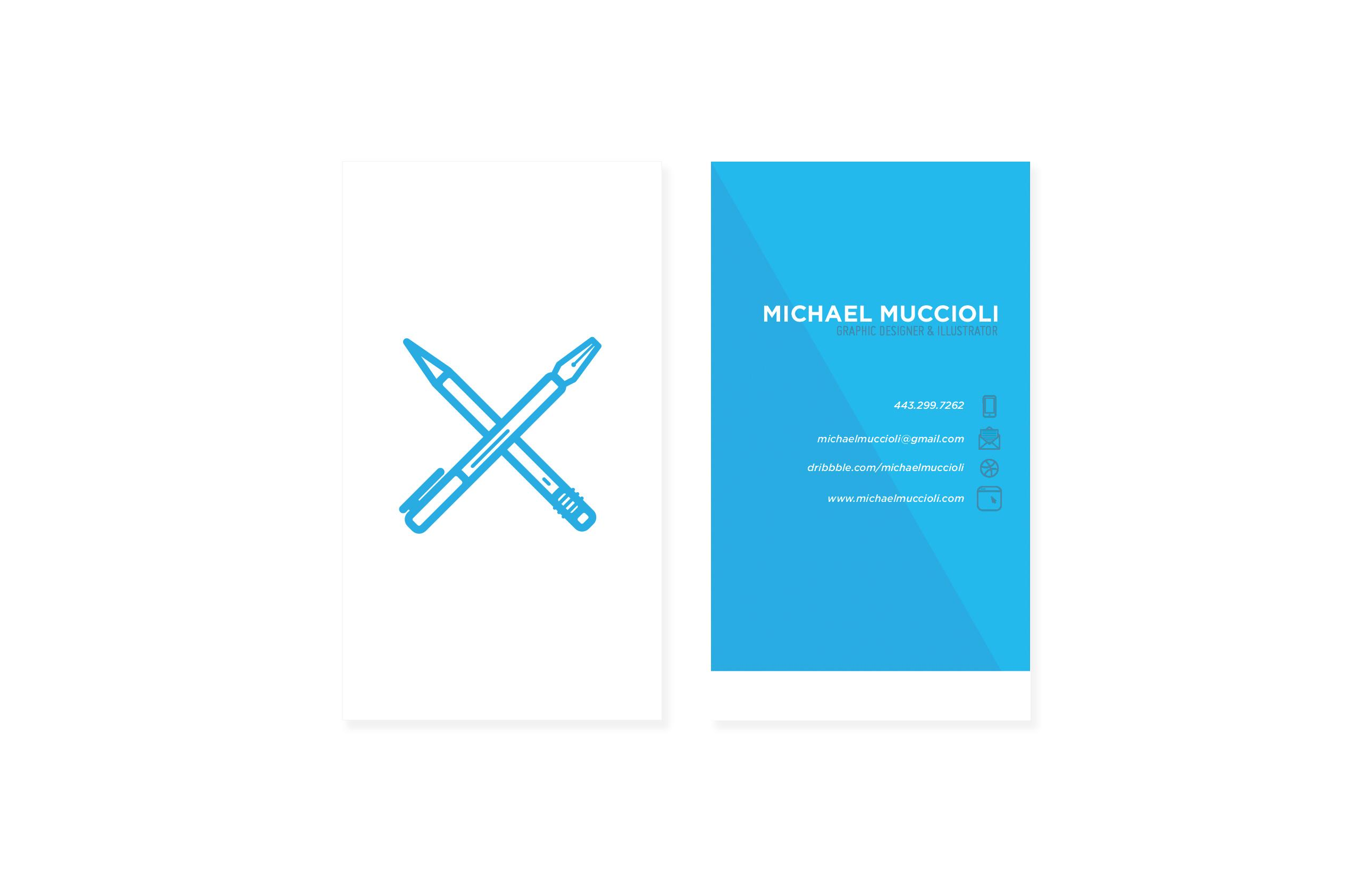 Freelance Business Card - image 5 - student project