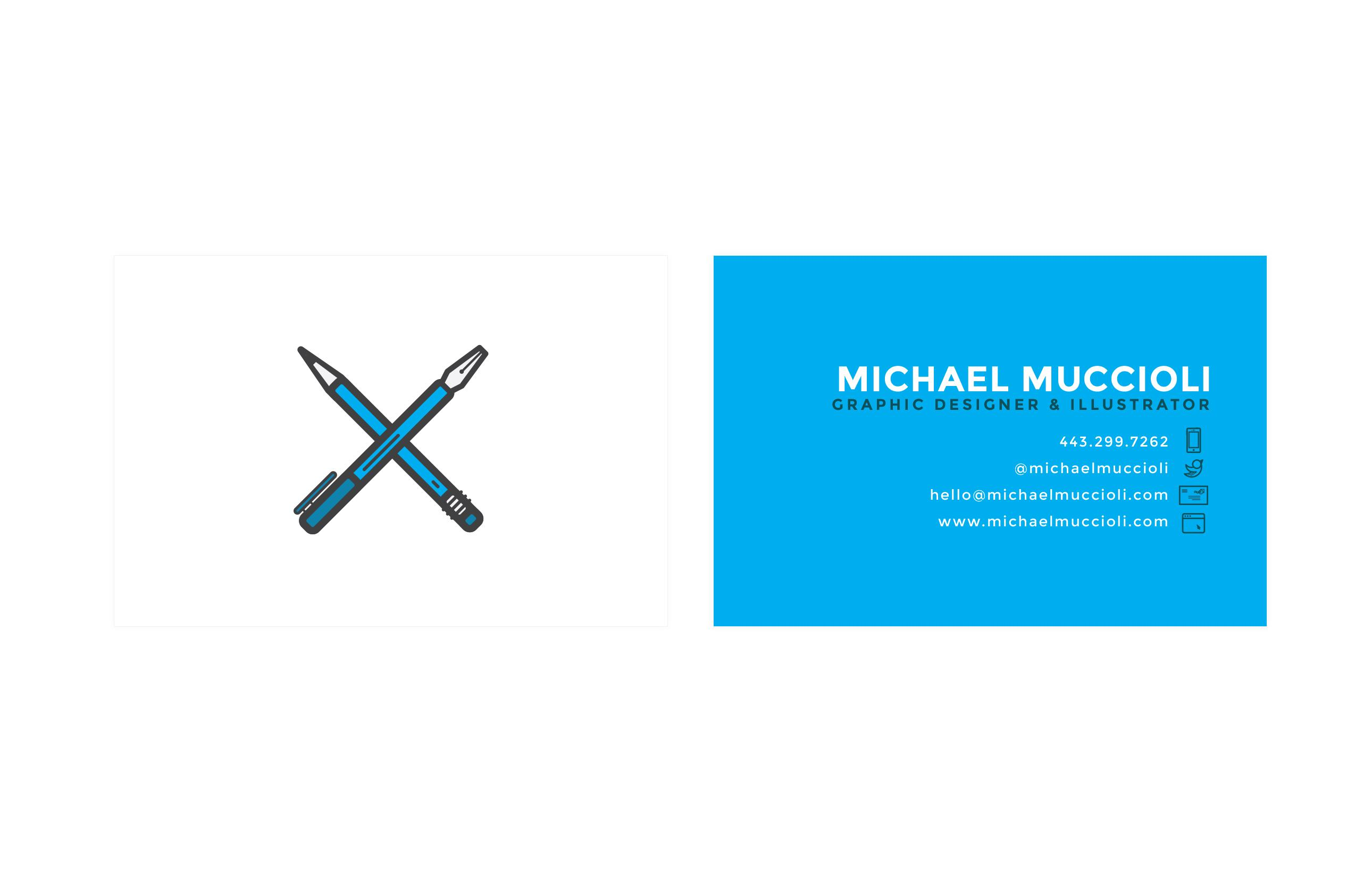 Freelance Business Card - image 7 - student project