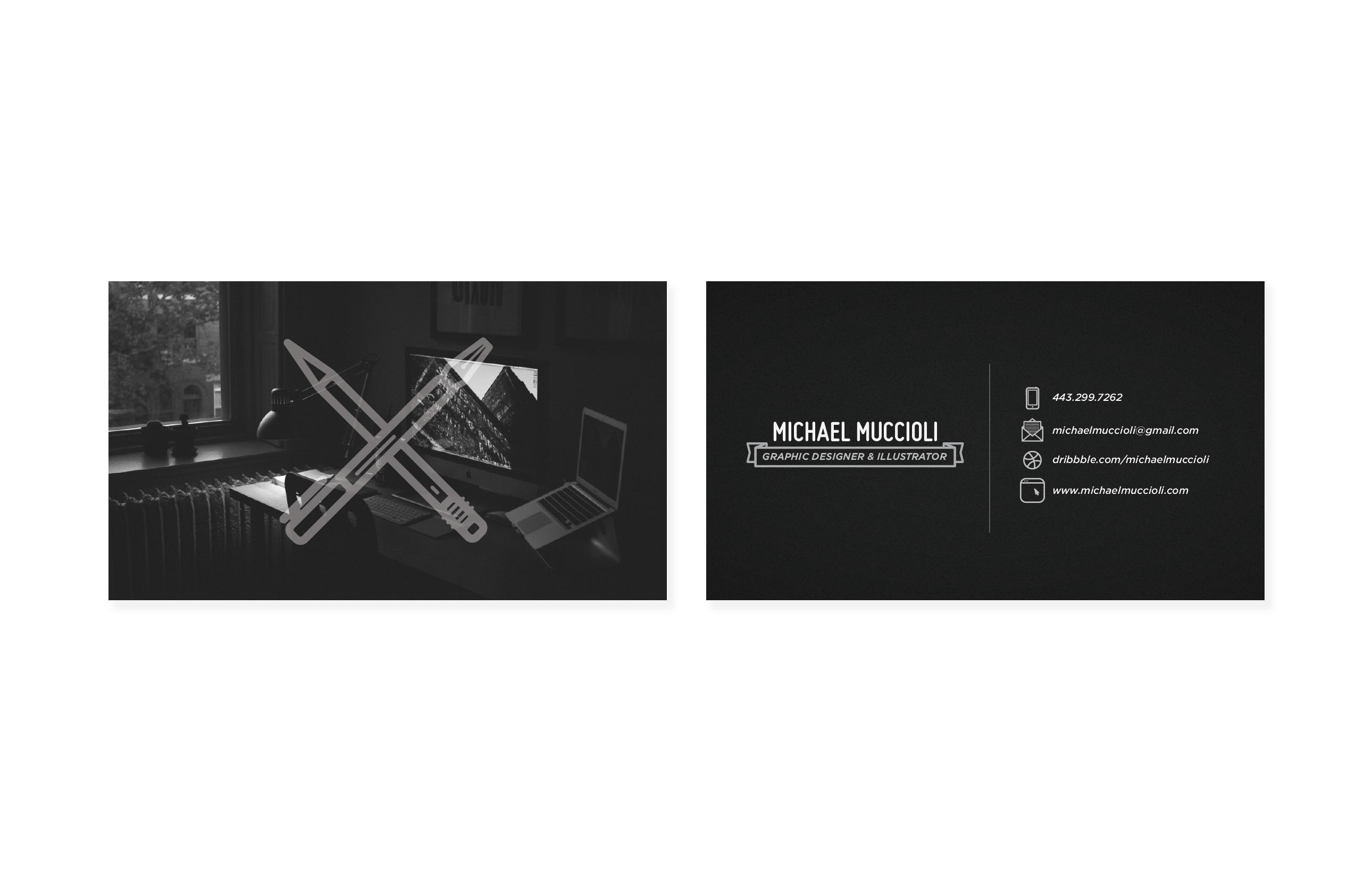 Freelance Business Card - image 3 - student project