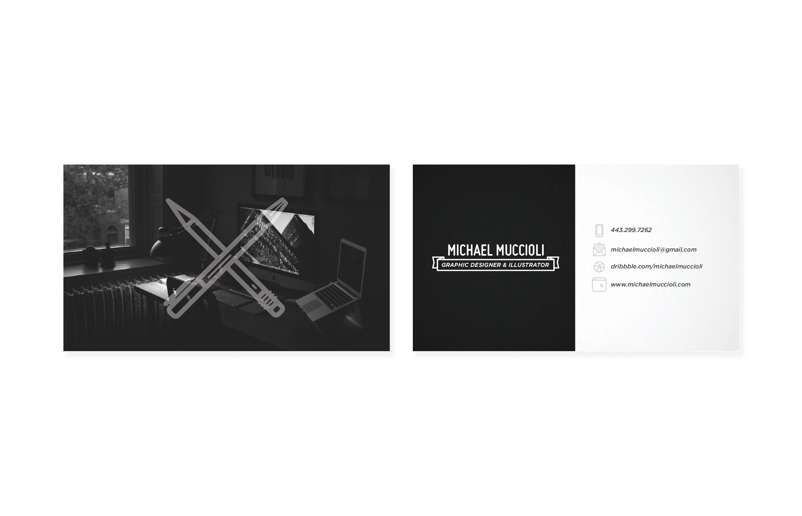 Freelance Business Card - image 2 - student project