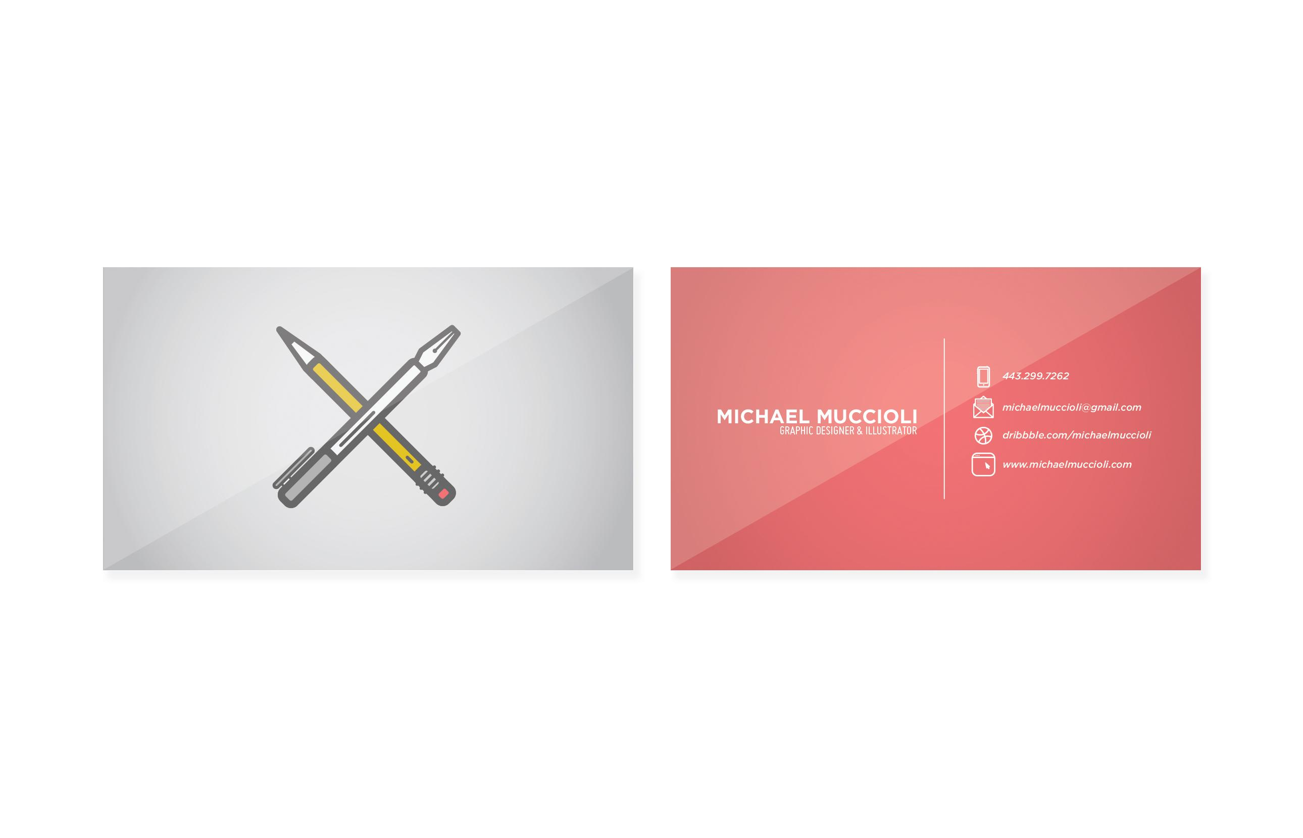 Freelance Business Card - image 1 - student project
