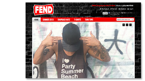 FEND: Ambitious x Rebel - image 9 - student project