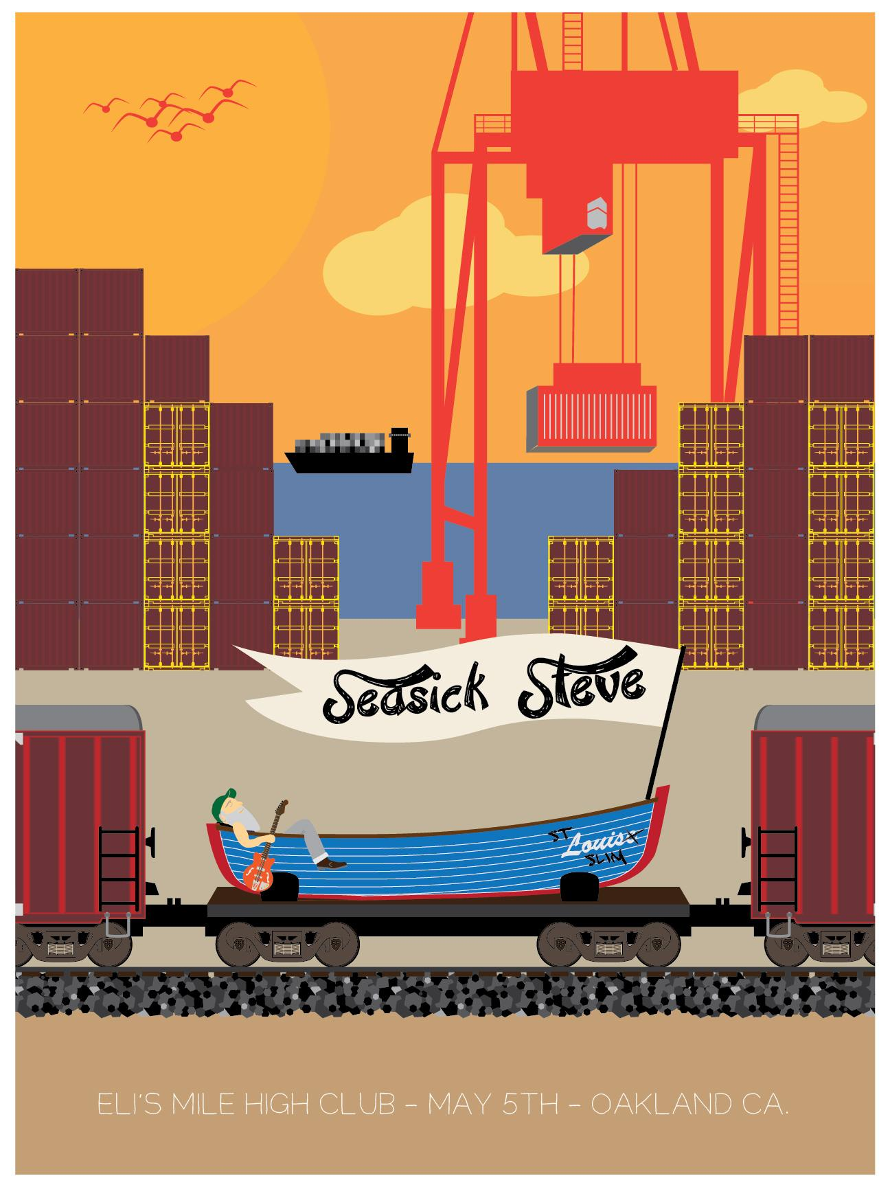 Final (For Now) Seasick Steve in Oakland - image 13 - student project
