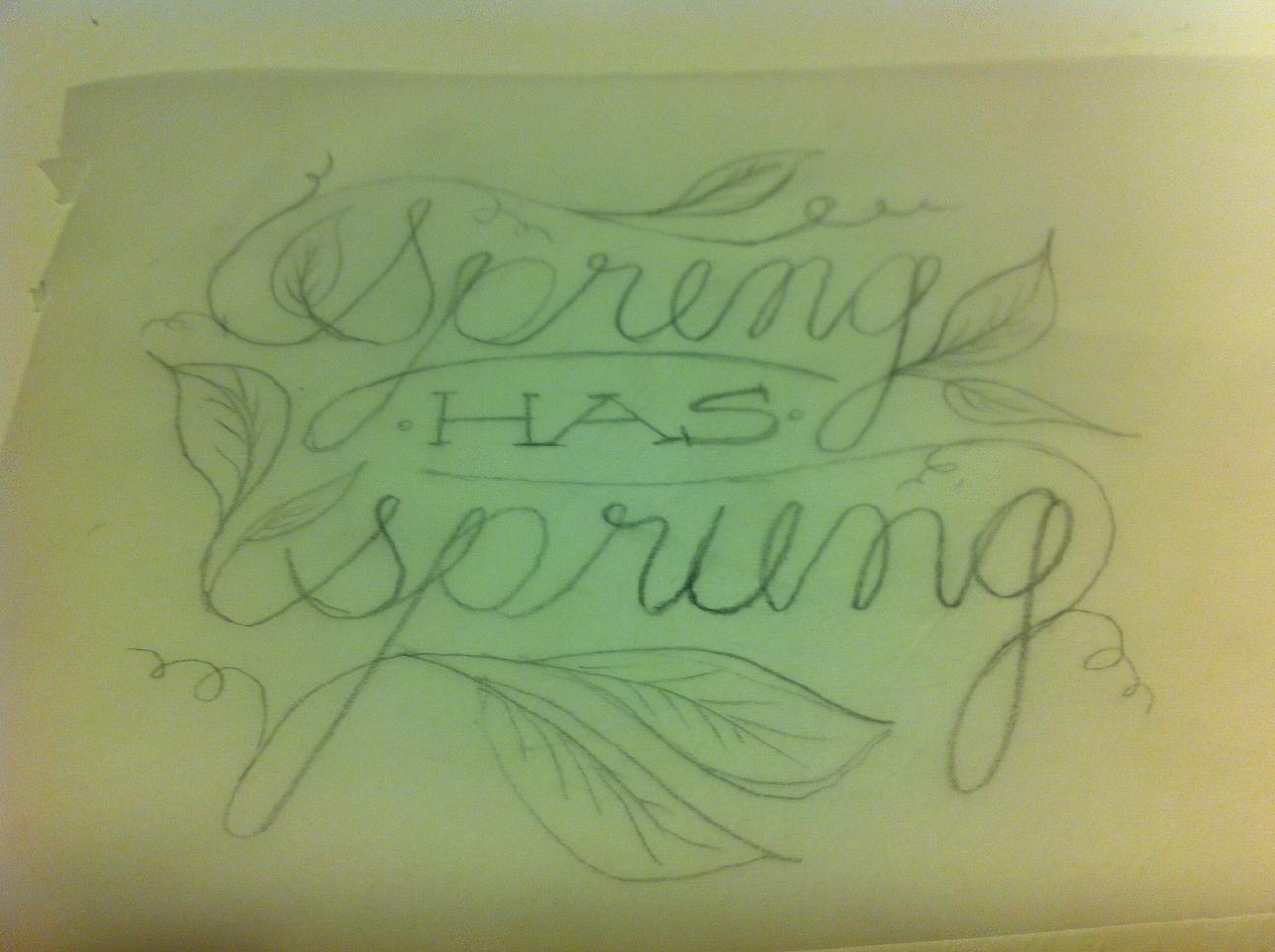 Spring has Sprung - image 2 - student project