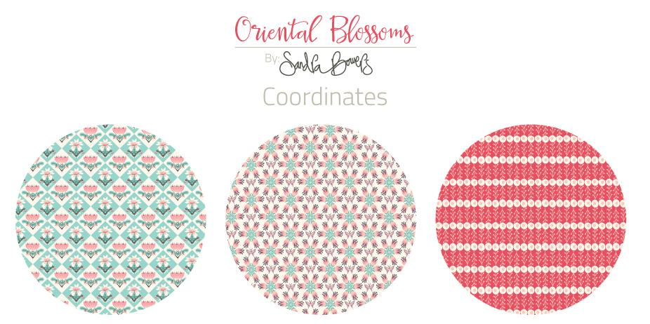 Oriental Blossoms Surface Design - Patterns Collection - image 4 - student project