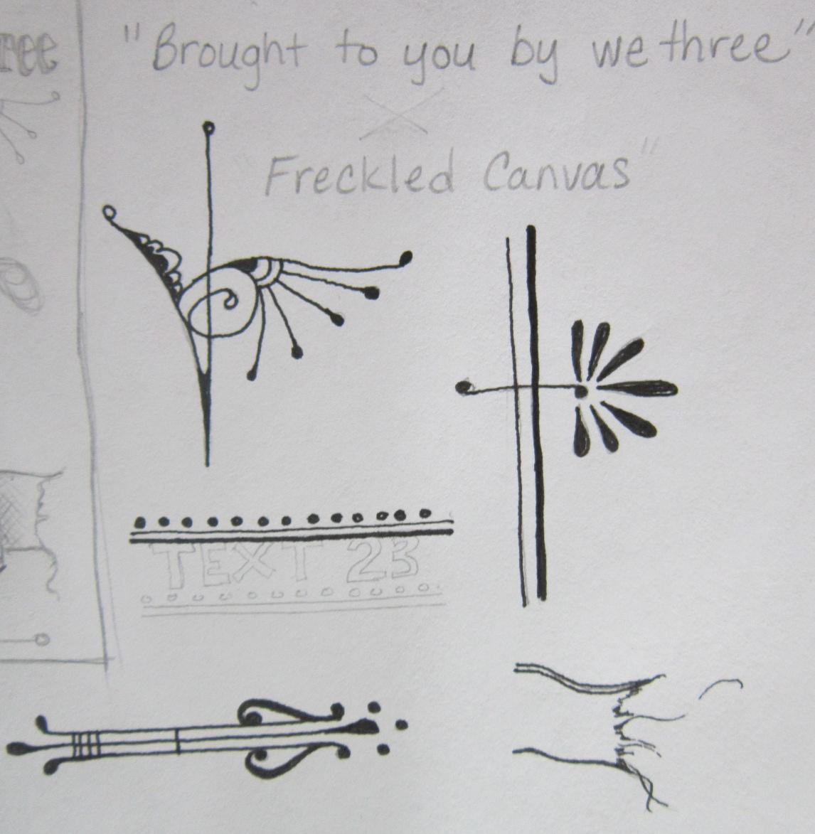 Freckled Canvas - image 14 - student project