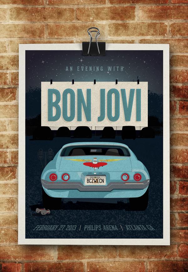 Bon Jovi - Philips Arena - image 10 - student project