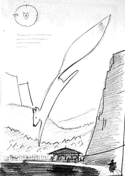 MAJAKI - Giant Fox's Landing Platform - image 4 - student project