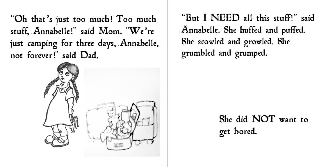 Annabelle & the Bear - image 1 - student project