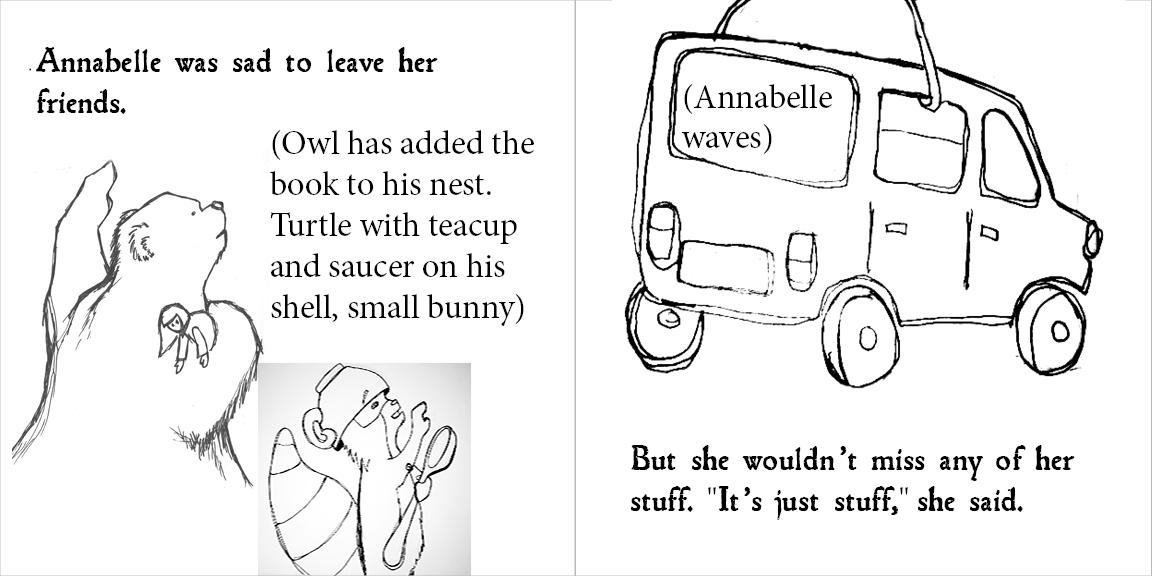 Annabelle & the Bear - image 13 - student project