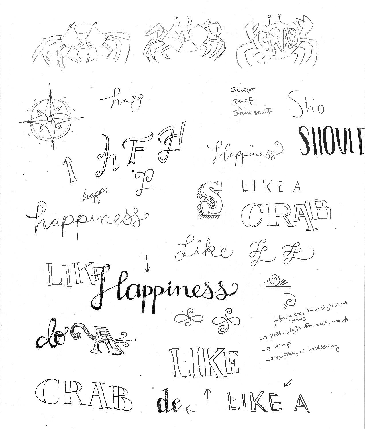 Happiness should be approached sideways, like a crab. - image 11 - student project
