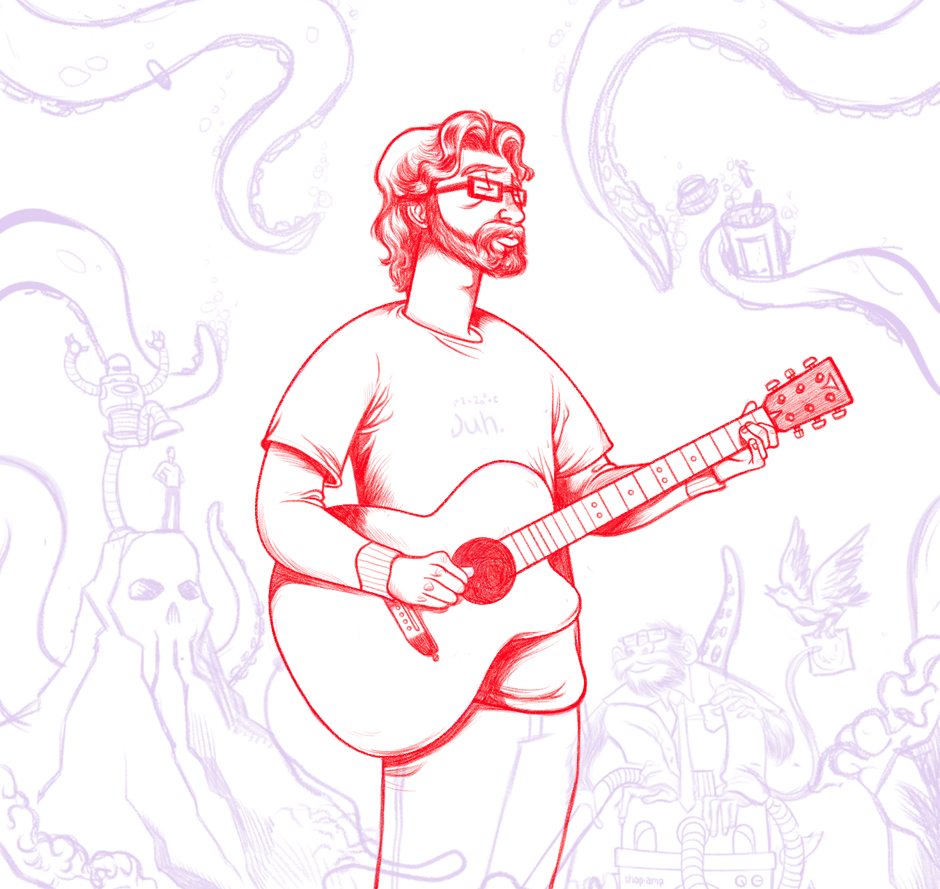 Jonathan Coulton - image 5 - student project