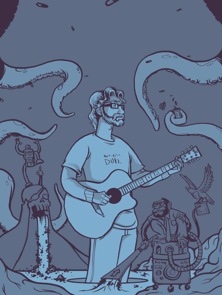 Jonathan Coulton - image 3 - student project