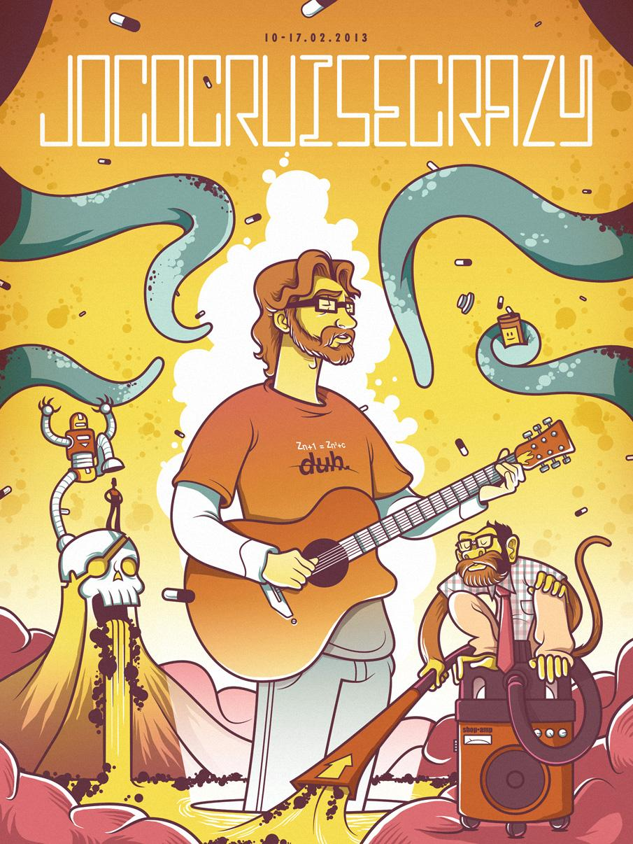 Jonathan Coulton - image 1 - student project