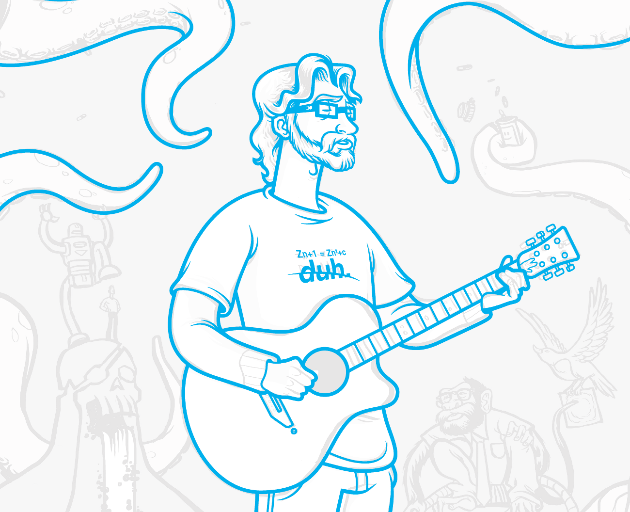 Jonathan Coulton - image 2 - student project