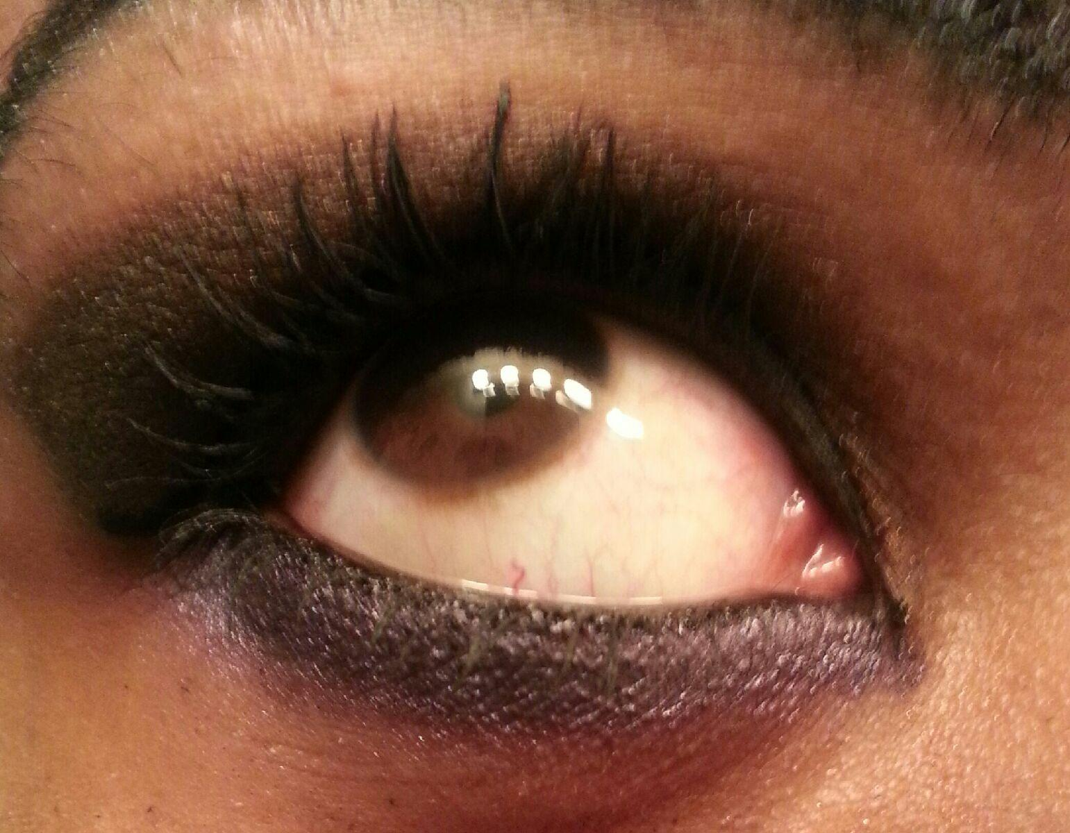 Project 2 Dark Crease with a Shimmery Lid - image 3 - student project