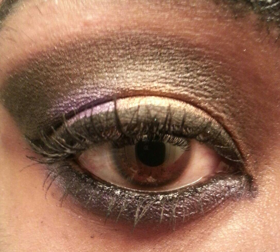Project 2 Dark Crease with a Shimmery Lid - image 1 - student project