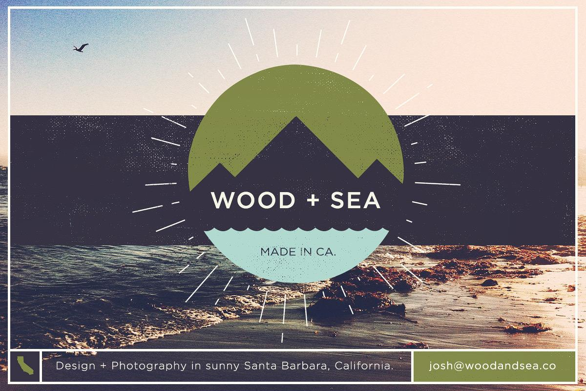 Wood + Sea Co. - My online portfolio - image 1 - student project