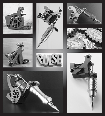 Pulse Tattoo Machines - image 10 - student project
