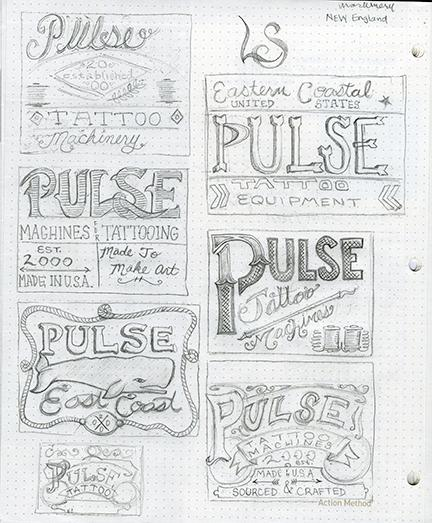 Pulse Tattoo Machines - image 5 - student project