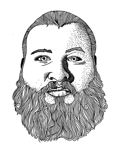 Action Bronson Gig Poster - image 1 - student project