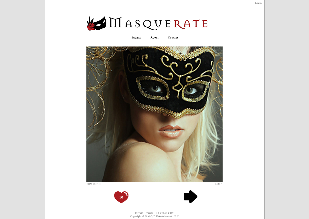 Masquerate - image 2 - student project