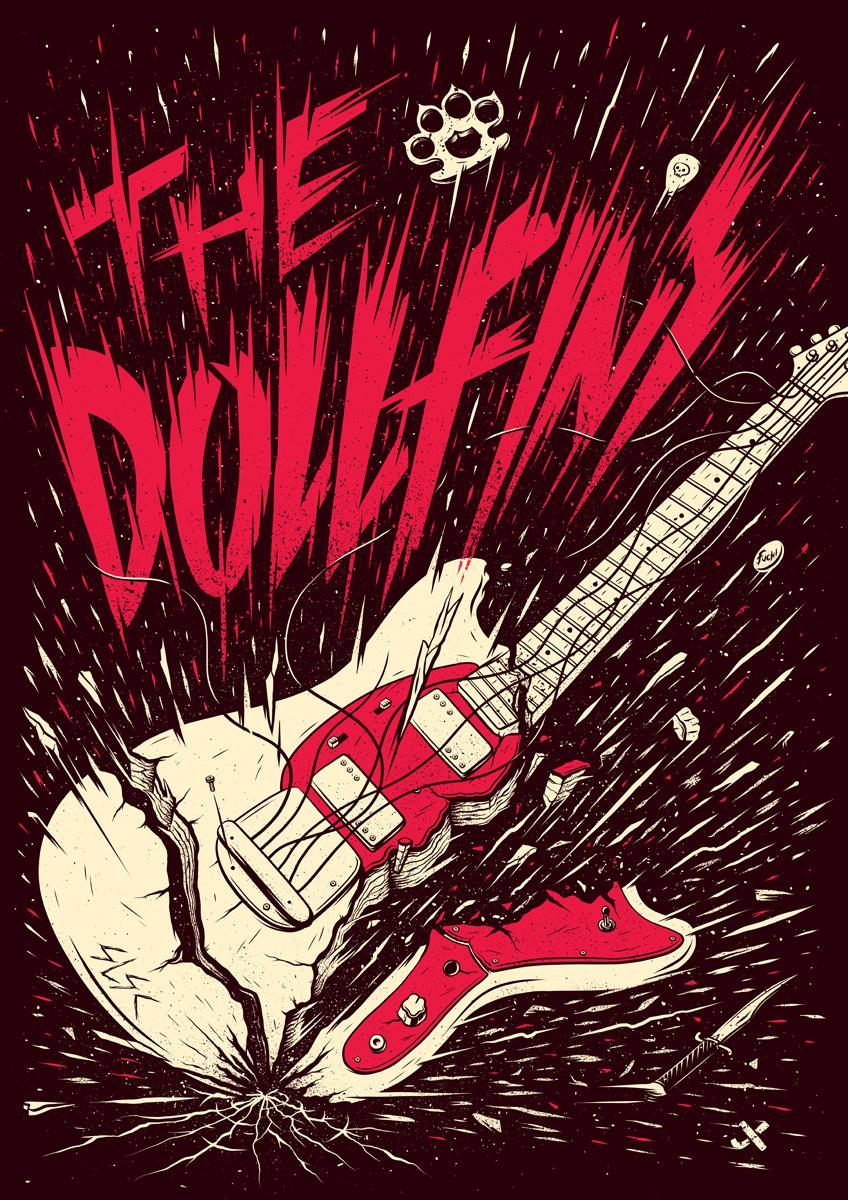 The Dollfins Poster - image 1 - student project