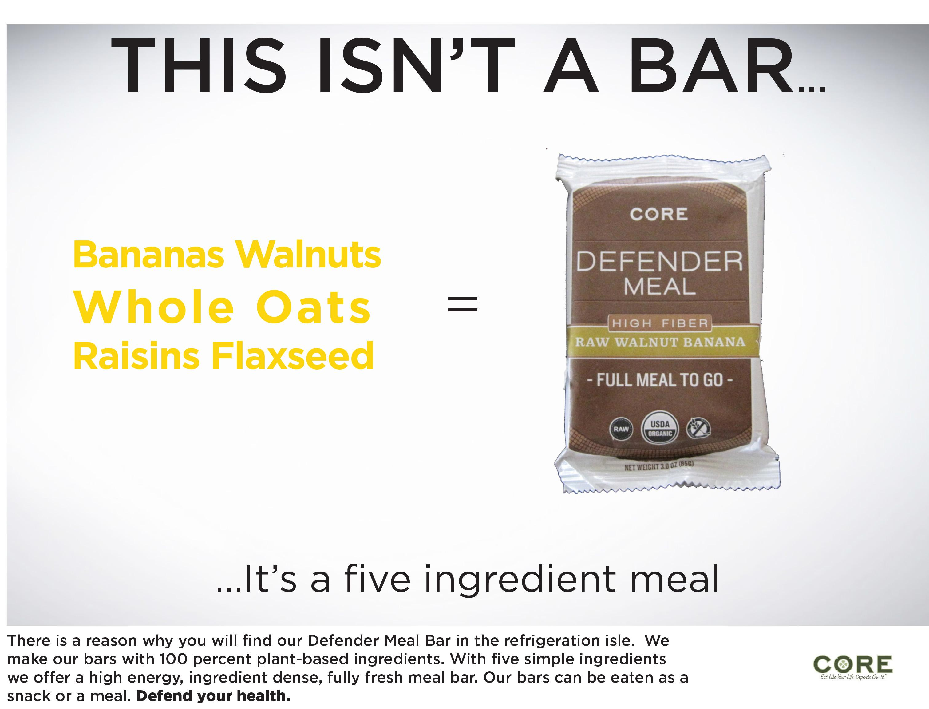 Defender Meal Bars - image 2 - student project