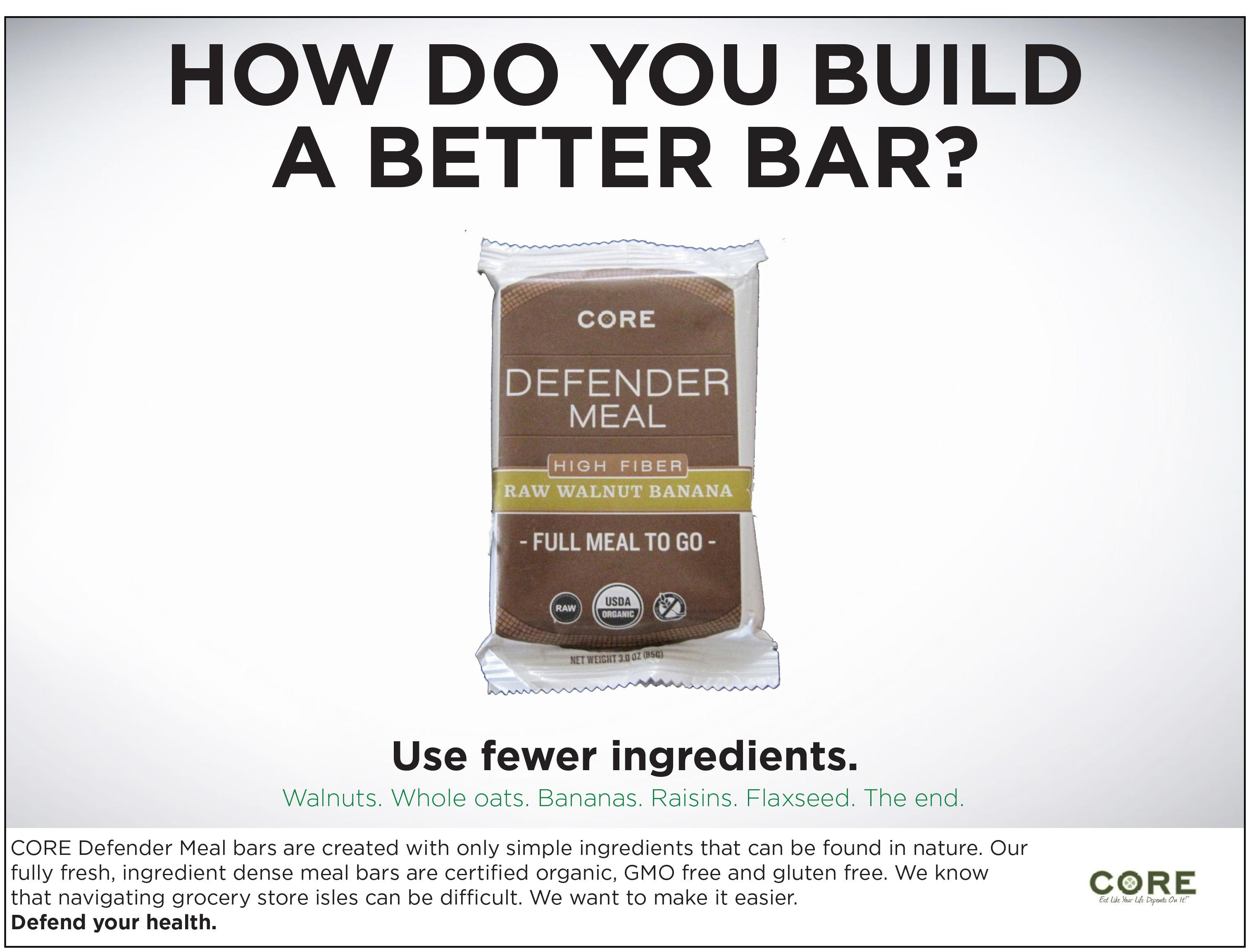 Defender Meal Bars - image 3 - student project