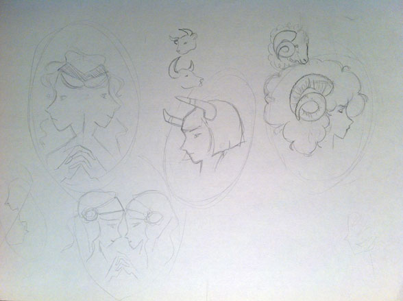 Zodiac Signs and Cameos - image 3 - student project