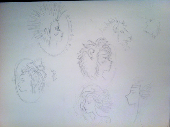 Zodiac Signs and Cameos - image 4 - student project