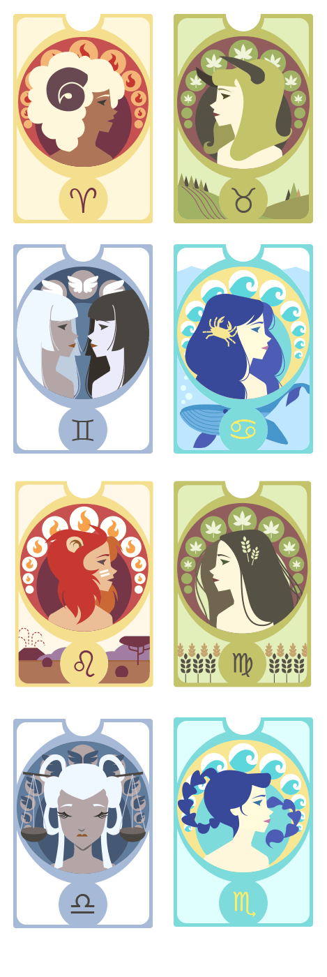 Zodiac Signs and Cameos - image 10 - student project