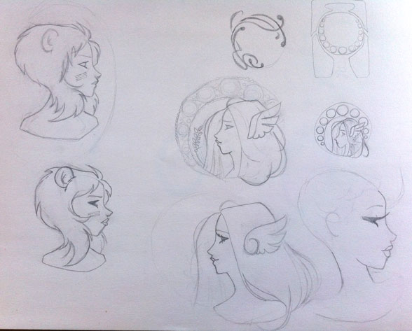 Zodiac Signs and Cameos - image 5 - student project