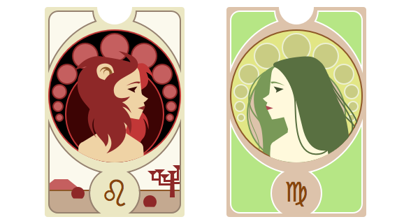 Zodiac Signs and Cameos - image 8 - student project